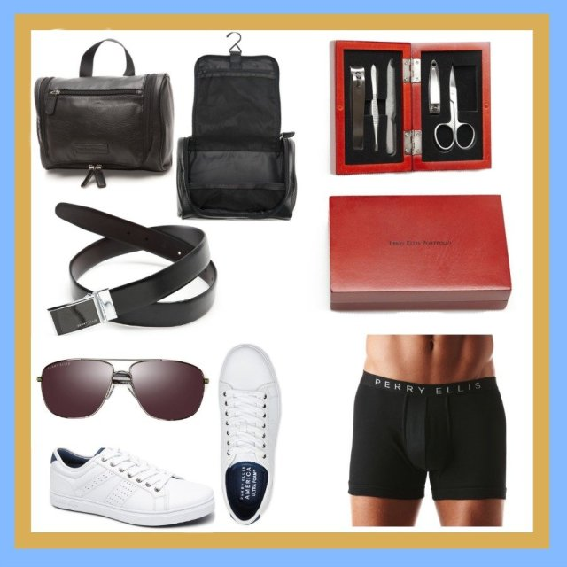 perry ellis, What Fathers Really Want On Father's Day: Gifts Under $50.00