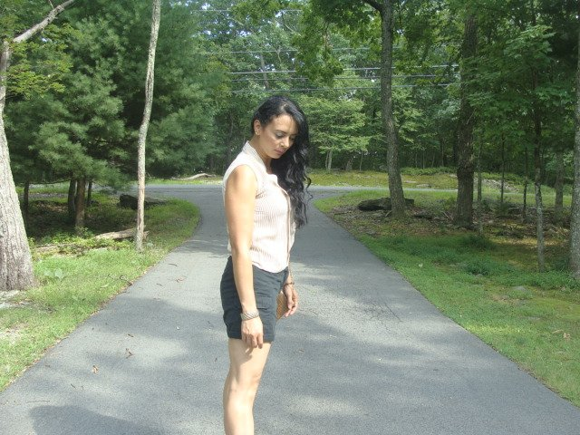 Favorite Clothing. Rosegal clothing store, Brief sleeveless striped blouse