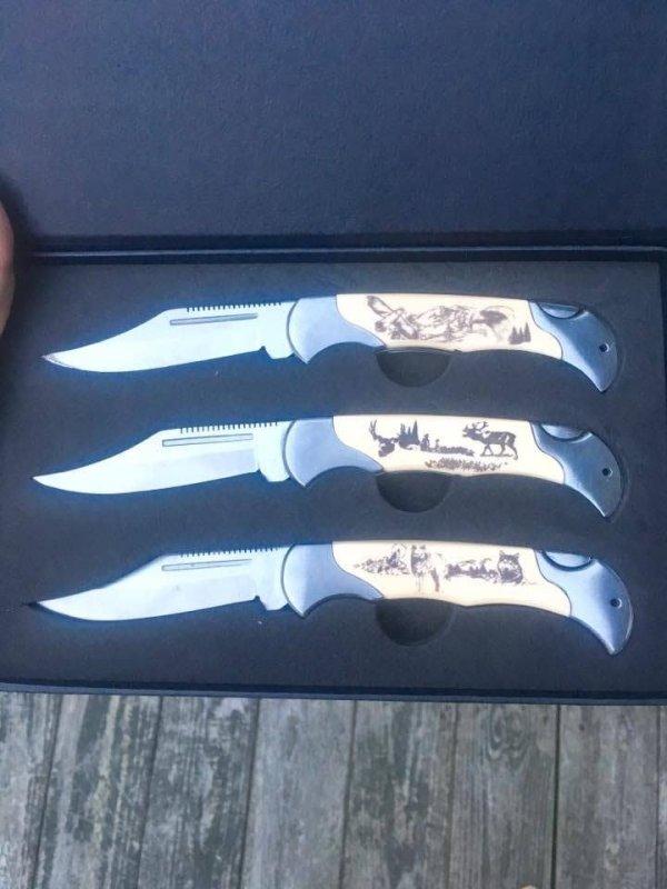 Maxam Sportsman's Folding Knife