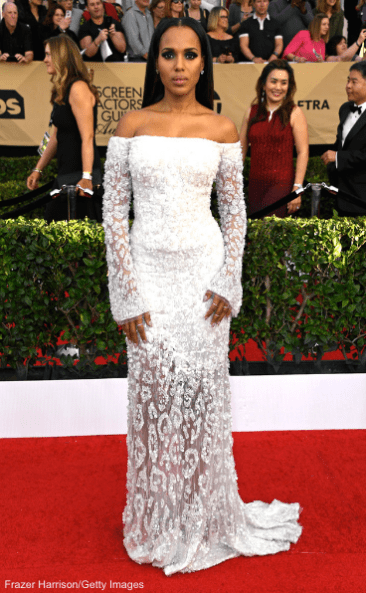 Kerry Washington, 23rd Sag Awards 2017 Best Dressed Celebrities Red Carpet