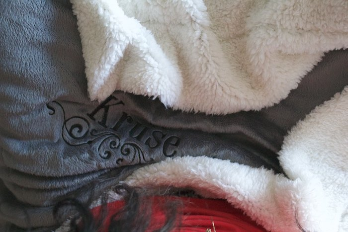 Valentine's Day, Embroidered Sherpa Blanket, Gifts For You Now