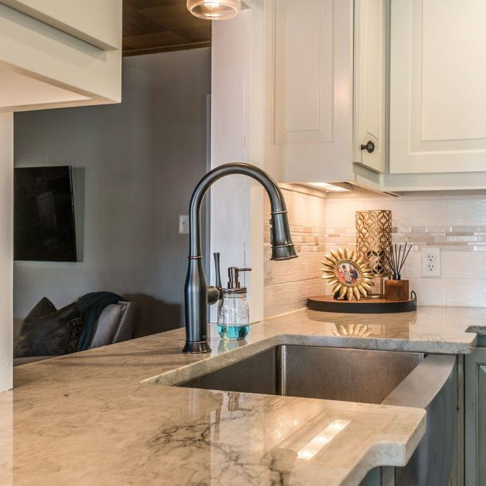 quartz kitchen countertops glacier bay faucet charlotte nc sales installation countertop with sink installed in east coast granite of