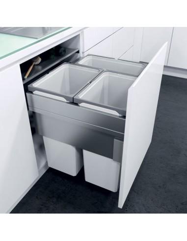 kitchen cabinet corner protectors stove vauth sagel oeko xxliner waste bin system 600mm large ...