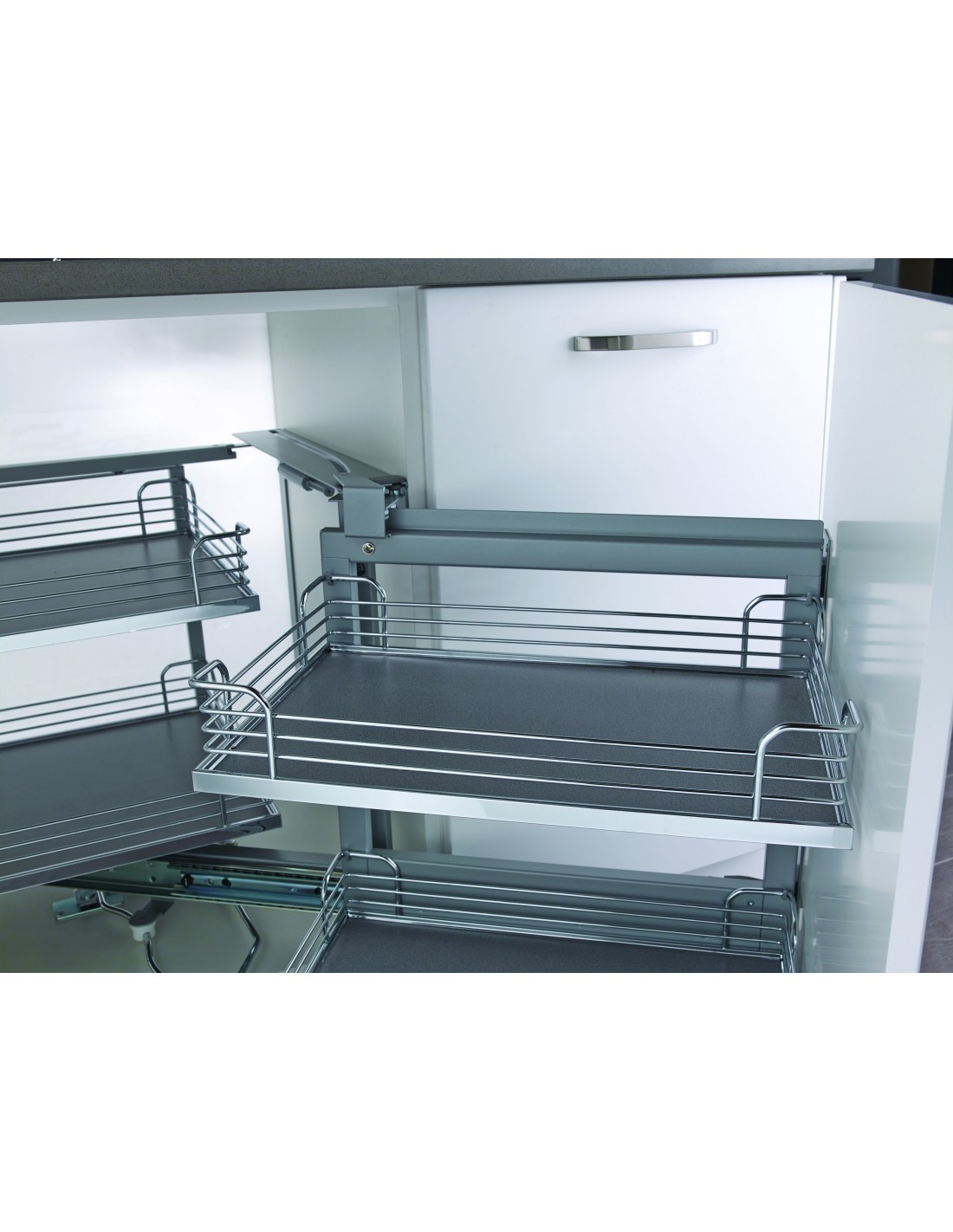 Kessebohmer Original Magic Corner Shelving Suits 900