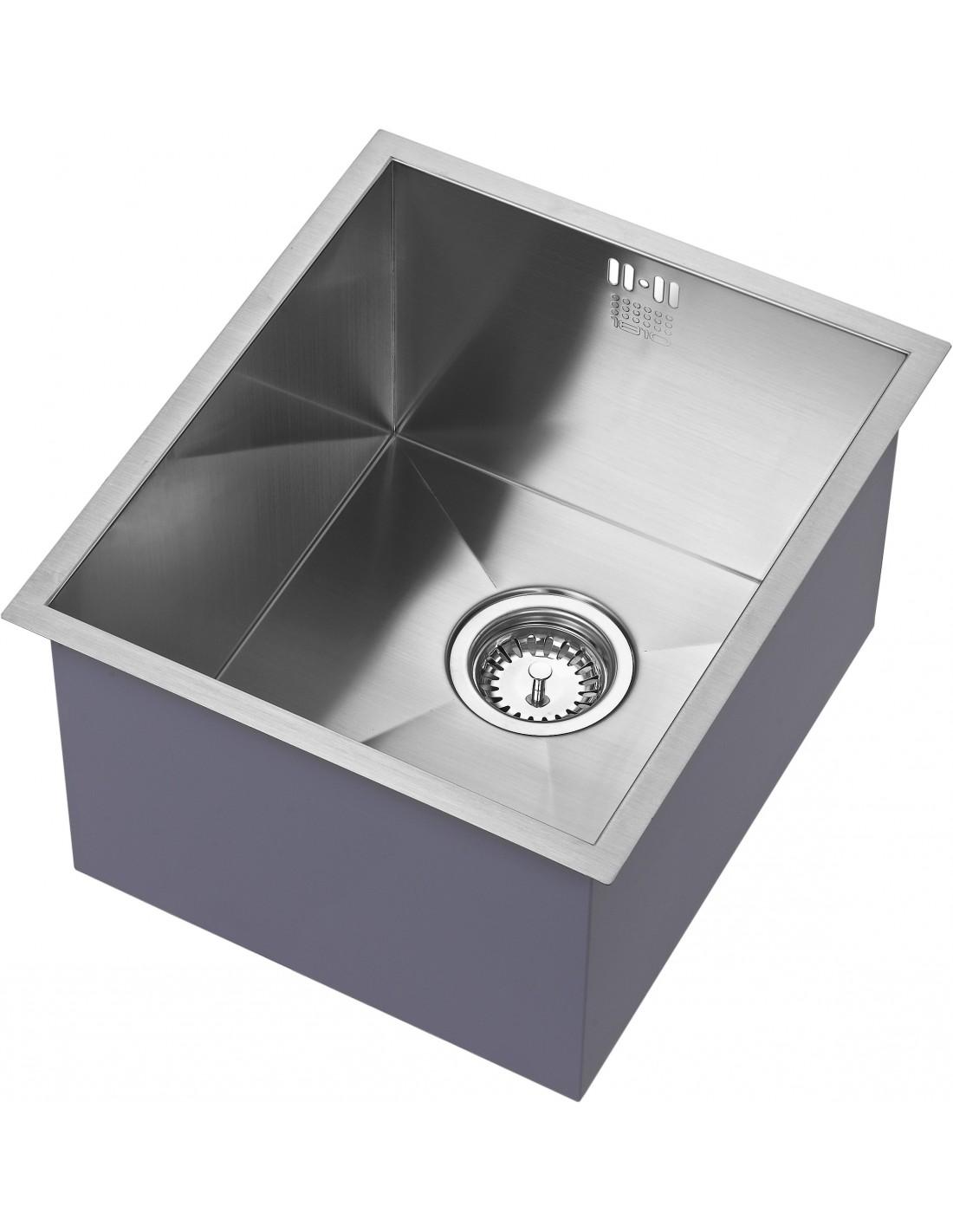 square kitchen sink kraftmaid zu 34 u s 018 1810 zenuno 340u single bowl undermount or inset sharp extra deep