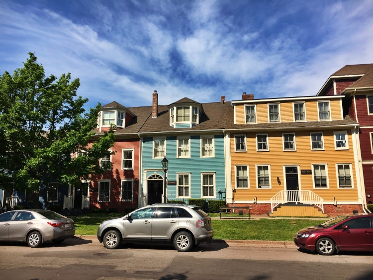 Colorful Houses Charlottetown