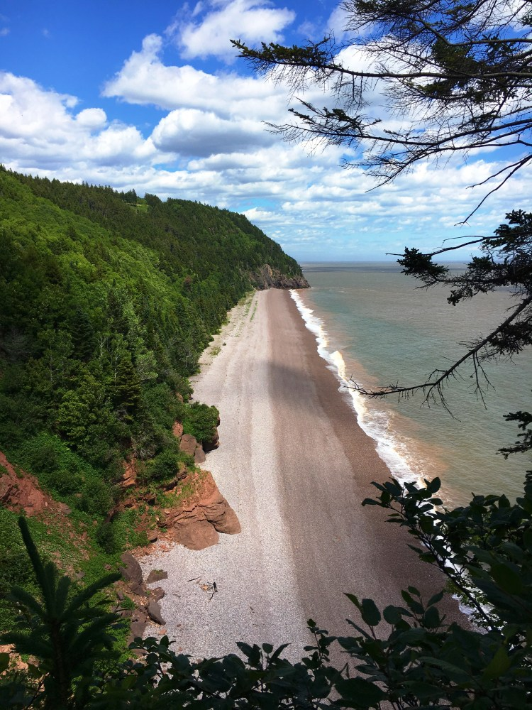 Pangburn Beach - Fundy Trail Parkway