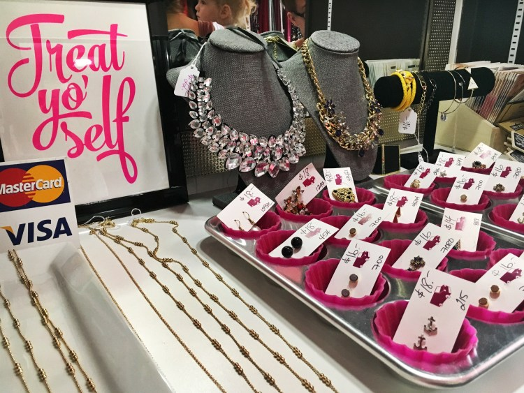 Accessories in the In Pursuit Mobile Boutique