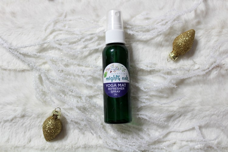 Holiday Gift Guide - Mighty Oak Essentials Yoga Spray
