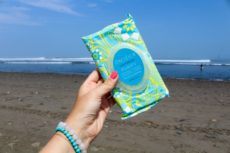 Pacifica Coconut Wipes
