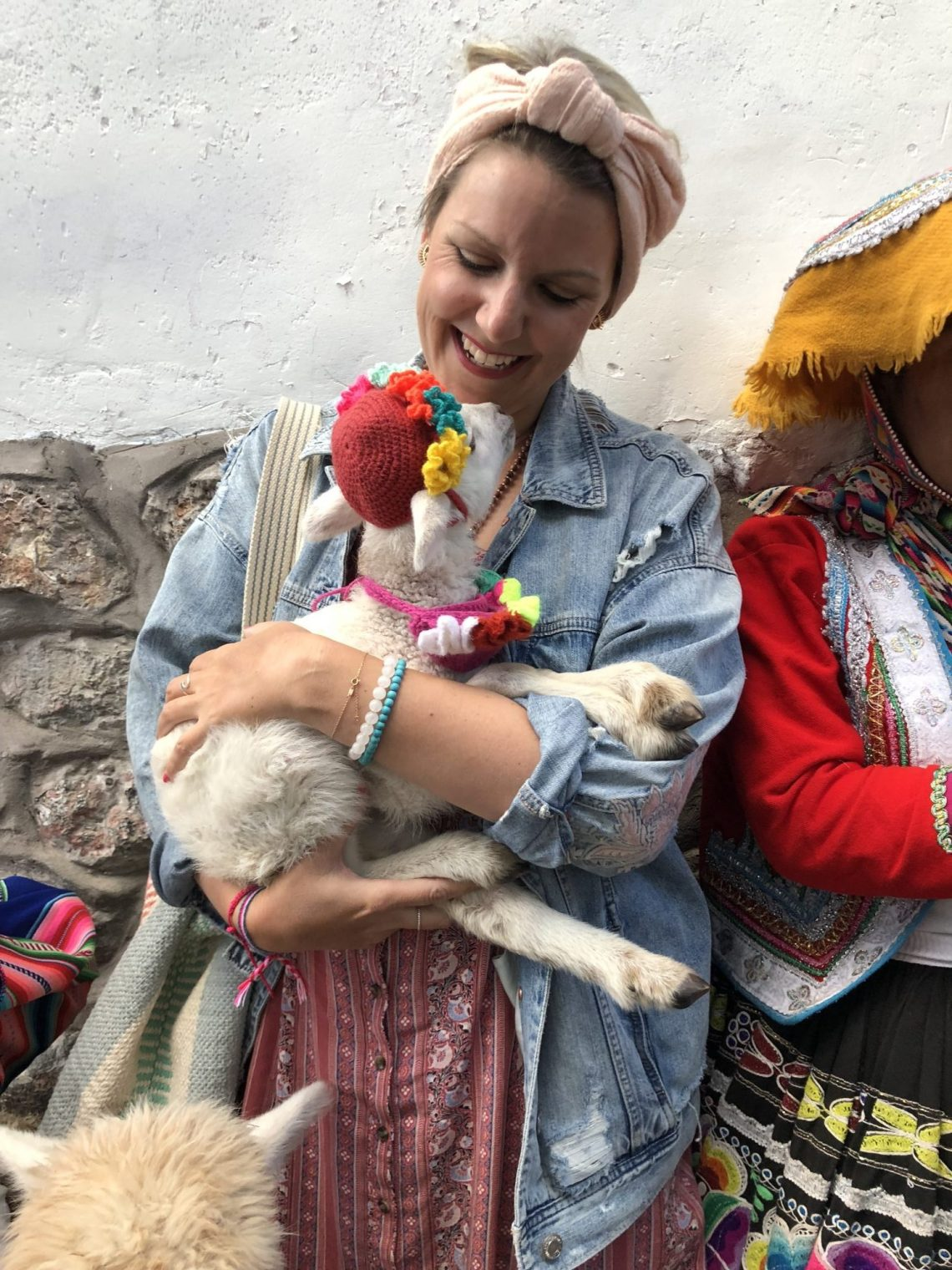 Baby Llamb in Cusco, Peru - East Coast Mermaid