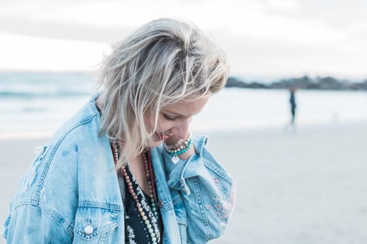 Crystal Richard -- Beach Headshot