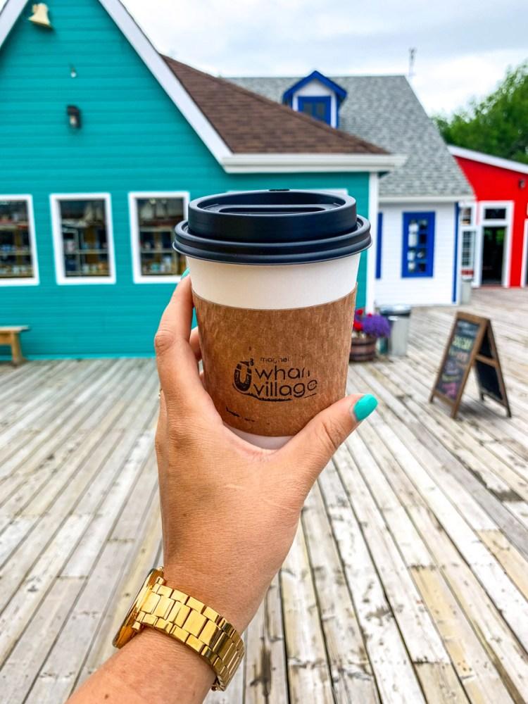 Magnetic Hill Wharf Village Coffee - East Coast Mermaid