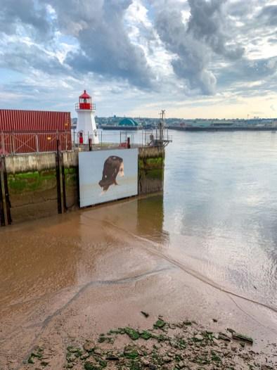 The Hula Mural - Saint John - East Coast Mermaid 2