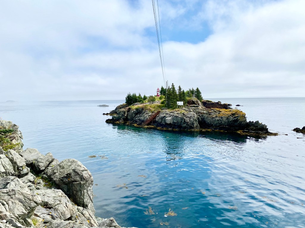 Explore an island only available at low tide, one of Crystal Richard's favourite Summer Haunts in Campobello Island, New Brunswick