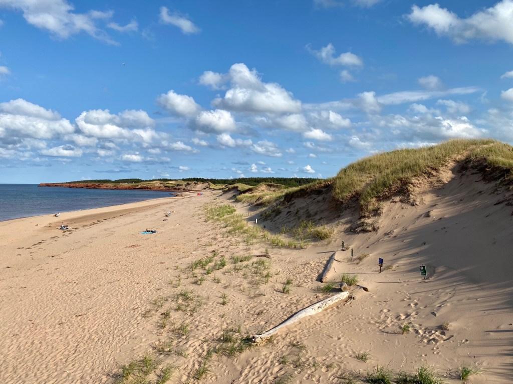 Cavendish Beach in PEI