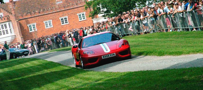 ECMC Goes to Helmingham Festival of Classic & Sports Cars