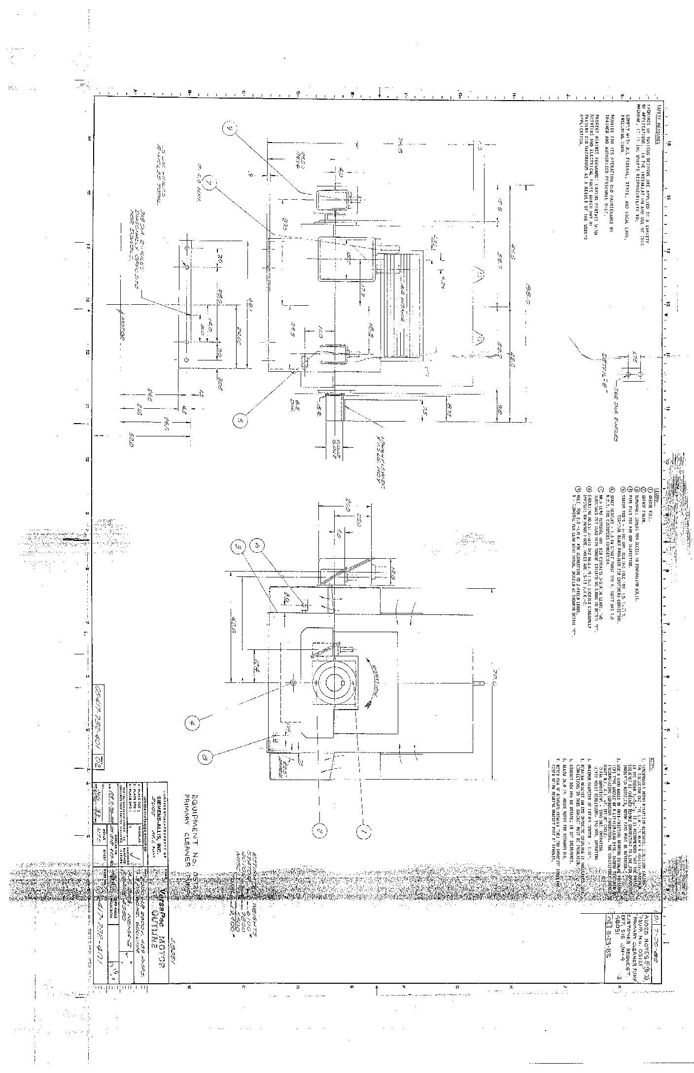 2000 HP, 600 RPM, SIEMENS-ALLIS, FRAME 4550, BBWPII, 2300
