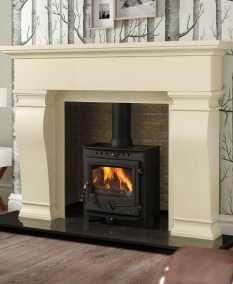 Van Gogh Fireplace