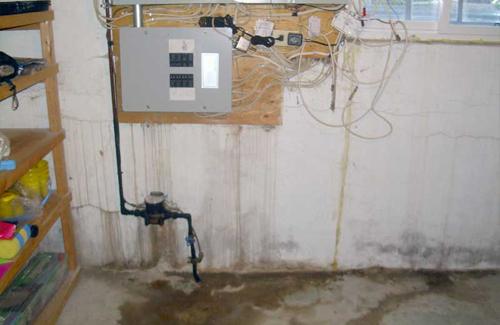Waterproofing intside