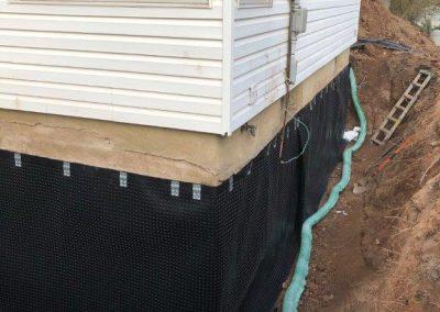 drain tile repair replacement east
