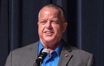 Cobb school superintendent honored