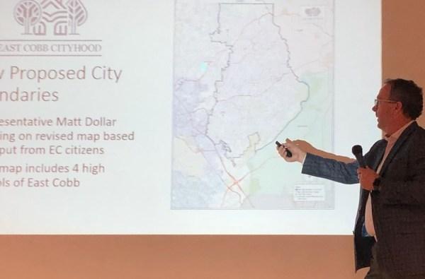 Expanded East Cobb city map, David Birdwell