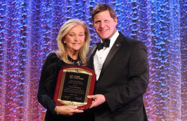 Susan Hampton, Cobb Chamber public service award