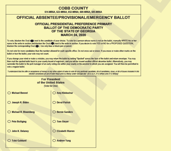 Cobb elections qualifying
