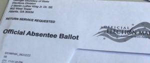 Cobb absentee ballots