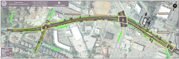 Lower Roswell Road project