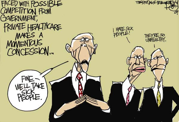Image result for health market cartoon