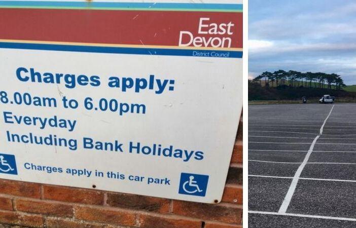 East Devon car parks
