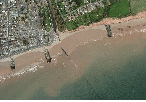 The preferred option for the beach management plan for Sidmouth.