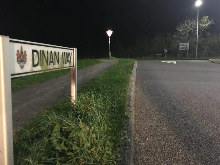 Dinan Way in Exmouth.