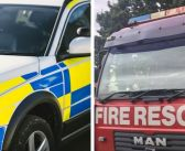 Woman is taken to hospital after two-vehicle crash near Honiton
