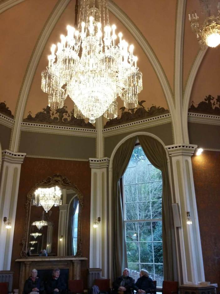 The Music Room's chandeliers date back to the 1800s. The Sidholme Hotel, in Elysian Fields, Sidmouth. Pictures: Save Sidmouth's Hidden Gem