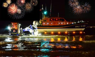 The Exmouth RNLI fireworks display in 2019. Picture: John Thorogood