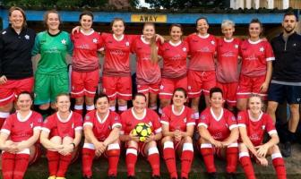 Budleigh Salterton AFC ladies. Picture: Bernice Worsley