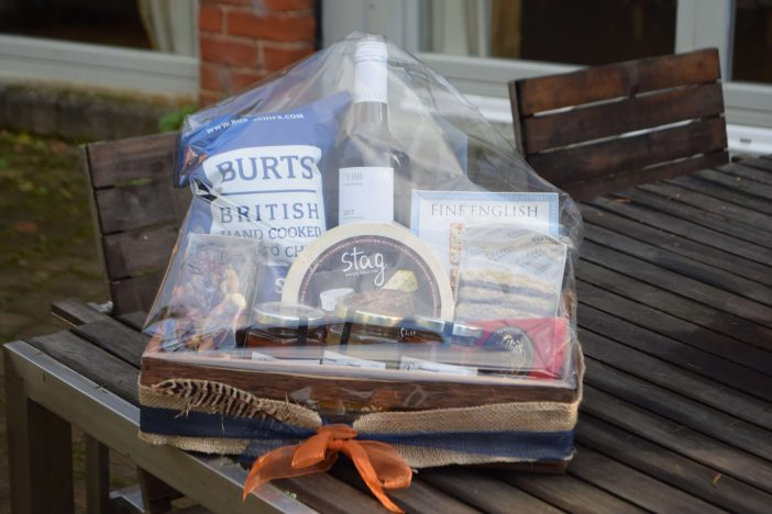 Ottery The Hamper donated by Knights Farm. Picture: Sue Cade
