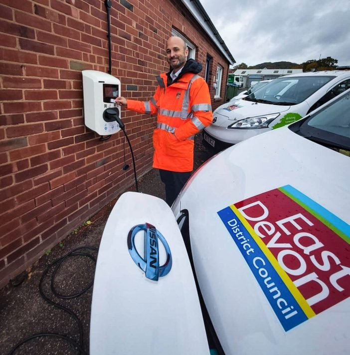 East Devon District Council StreetScene deputy operations manager Tom Wood. Picture: EDDC