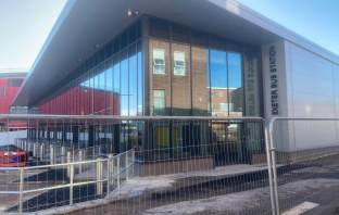 Next stop - completion. The new Exeter Bus Station.