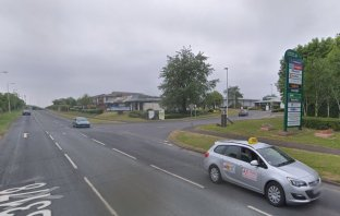 The junction between Liverton Business Park and Salterton Road in Exmouth. Image: Google Maps