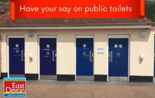 A public consultation is under way on the future of East Devon toilets. Image: EDDC