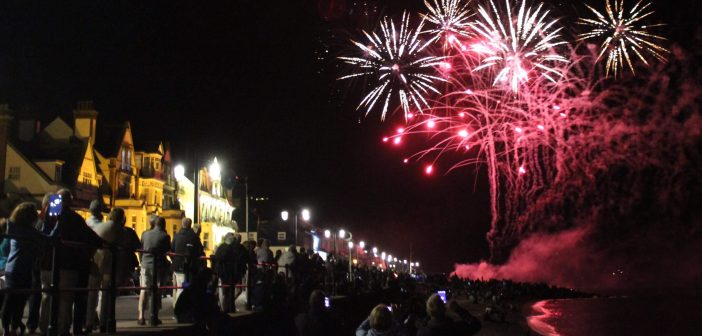 Fireworks spectacular announced for Sidmouth seafront to cap of festivities-filled week featuring airshow and funfair