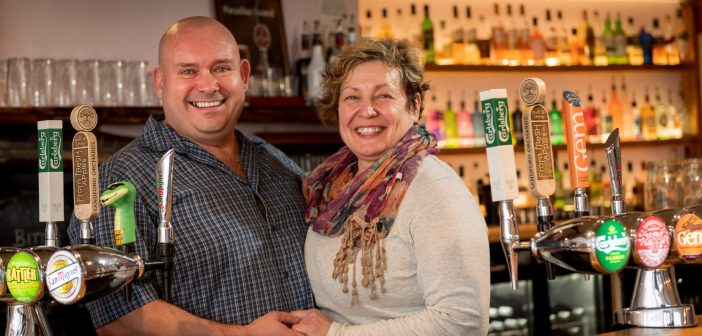Ottery landlord Mike plays starring role in new pub kitchen seminar
