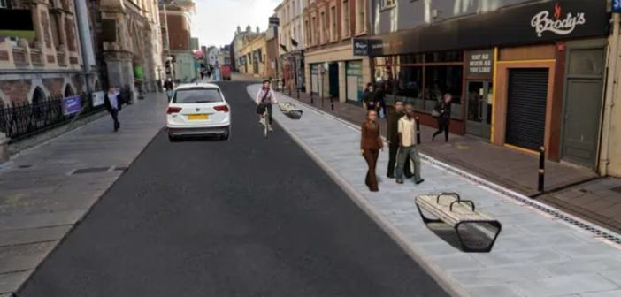 Exeter: Consultation over bid to make Queen Street one-way system permanent