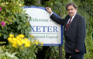 Former Exeter City Council leader Pete Edwards. Image: Exeter City Council