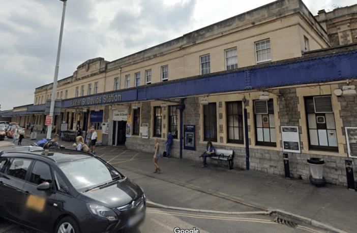 Stock photo - Exeter St Davids train station. Image: Google Maps