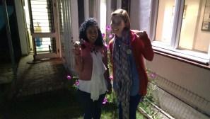 Silver Medal Winners Mehreen & Sarah-Jayne